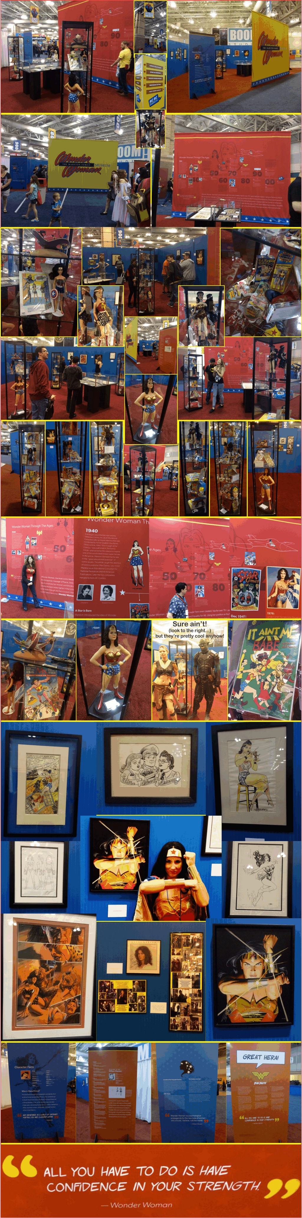 Wonder Woman Museum at AC Boardwalk Con 2015