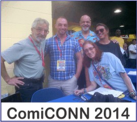 ComiCONN 2014 on Wonder Woman Network