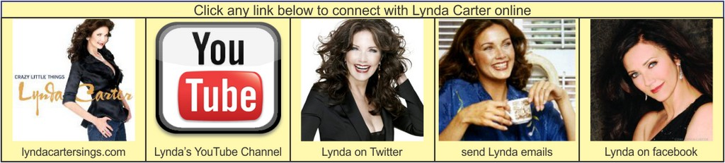 Lynda Carter Links on Wonder Woman Network