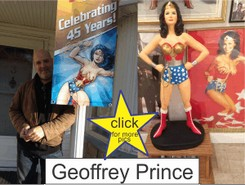 Geoffrey Prince in the Marston Family Wonder Woman Museum