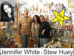 Jennifer B. White and Stew Huey in the Marston Family Wonder Woman Museum