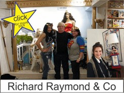 Richard Raymond in the Marston Family Wonder Woman Museum
